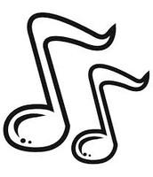 Me gusta oir el musica.