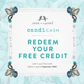 And don't let your customers CANDI CASH expire on 9/30!