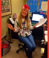 Christmasy Caroline!