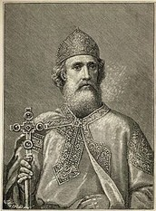 987 A.D.-Vladimir I converts to Christianity