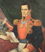 Antonio Lopez de Santa Ana was the President of Mexico