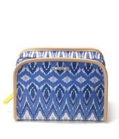 Beauty Bag - Indigo Ikat $18