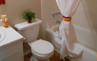 Clean Home Style Bathrooms!