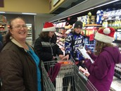 Using our funds to buy supplies for the Shelter House