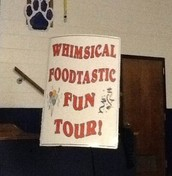 The Whimsical Foodtastic Fun Tour Assembly