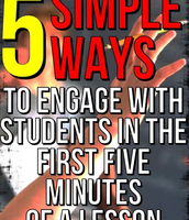 Engage Your Students