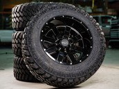 Aftermarket rims and tires
