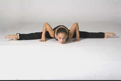 straddle middle