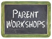 2015 - 2016 PARENT WORKSHOPS