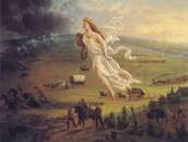 Manifest destiny painting