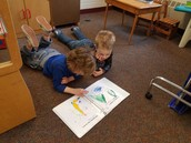 New Reading Buddies activity