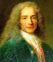 Francois-Marie Arouet better known as Voltaire