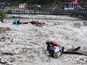 June 2013 - Multi-Day Cloud Burst in Uttarakhand