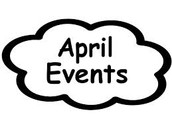 April Dates to Remember: