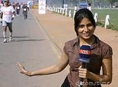 La periodista