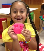 Making sight words out of Play Dough!