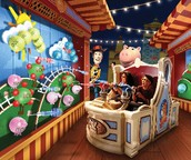The Toy Story Mania Attraction