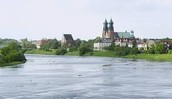 This is the Warta Poland river