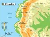 Ecuador's mainland