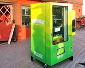 Different colored machines offer a exciting space to buy