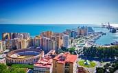 Dia 1: De Lisboa a Málaga