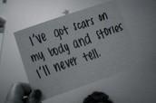 scars..