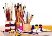 Art supplies as well