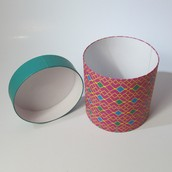 Patterned Container