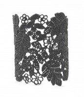 Black Chantilly Lace Cuff £85