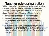 Teachers play a critical role