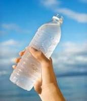 Yo bebí agua.