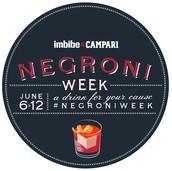 Negroni Week June 6th-12th