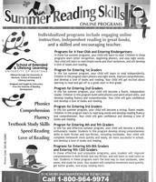 Summer Reading Skills