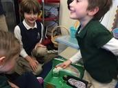 Jamie's authentic Irish glue should've caught the little guy!