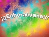 ¡Enhorabuena! Shout out to Walston, Jordan, Aidan, Cecelia, Ashna and Isaac for reporting 100% on their Participation Progress Report!