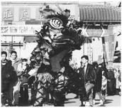 Chinese Americans Celebrating the New Year