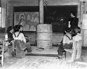 Rural White School