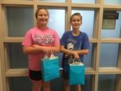 Middle School Funraiser Winners - 2014-2015!