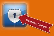 Mandatory Password Change
