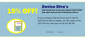Device Diva's Coupon