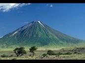 The valcano