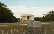 This is the Lincoln memorial