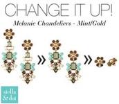 SOLD! Melanie Chandeliers