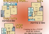 Spacious 2 bedroom/2 bathroom apartment available for rent!