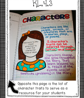 Characters and Character Traits