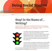 Doing Social Studies Blog
