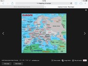 Mapping of Europe