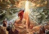 משה חוצה את  ים סוף