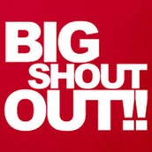 Special Shout Outs!