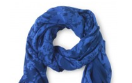 Bryant Park Scarf in Blue, $59